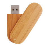 Bamboo USB Flash Drive Wood USB Memory Disk with Free Logo (BM007)