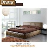 Divany Modern Style High Headboard Bed
