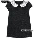 2021 Spring Girl Formal Black Evening Dress Kid Children Wear