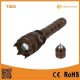 Self-Defence CREE XP-E R2 Zoom LED Flashlight Poppas-T822