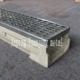 U Shape Grating Cover Precast Polymer Resin Concrete Linear Trench Drain Floor Drain