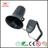 Motor Siren with Speaker/Emergency Siren Car Horn/ Police /Ambulance Siren /Storage Battery Car Siren Open Street Use The Police Car to Open up The Road