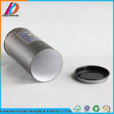 Eco-Friendly Cardboard Paper Tube with Metal Lid for Food Packing