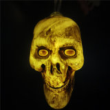 Halloween Hanging Decor Outdoor Party Supplies Skull LED Light String Lantern Lamps for Home DIY