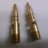 Custom Design CNC Machined High Precision Brass Splined Transmission Shaft