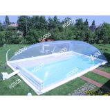 Customized Big Waterproof Inflatable Transparent Dome Tent/Commercial Clear Swimming Pool Cover