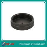 Customized Aluminum Parts Service CNC Turning Process, Flat Black Anodize Aluminum Turning Machining Top Cover