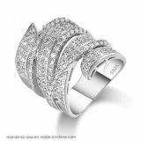 Girlfriend Birthday Gift Luxury Charm Romantic Zircon Ring Women Fashion Jewelry