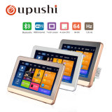 Oupushi WiFi Home Theater System 7 Inch Background Music Wireless Bluetooth Wall Pad with USB, SD Card, TF Crad