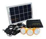 Portable Solar Energy Home Lighting System with Phone Charger