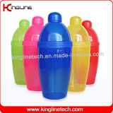 Any color 550ml plastic cocktail shaker OEM (KL-3020)