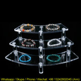 Elegant Woman Acrylic Jewelry Display Exhibition