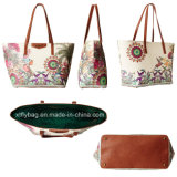 Eco-Friendly Classy Lady′s PVC Shopping Handbag Tote Bag