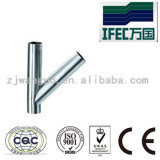 Sanitary Stainless Steel Y-Type Tee (IFEC-ST100010)