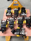 Full Port Bore Steel Wcb Air Union Pneumatic Flange Ball Valve