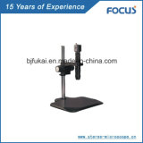 Monocular Zoom Lens for Video Microscopic Instrument
