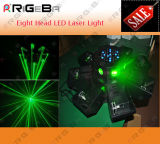 DMX UFO Eight Head LED Laser Effect Light for Nightclub