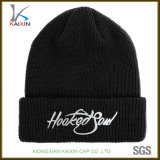 Wholesale 100% Acrylic Embroidered Beanie Knitted Hats