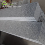 G603 Grey Granite Polished Treads Riser Step Staircase with Bullnose Edge