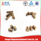 Hard Stone Cutting Diamond Segment for Granite Blade Segment