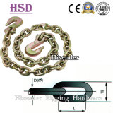 High Tensile Lashing Link Chain with Clevis Grab Hook