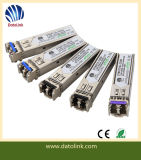 155Mbps 1550nm 80km Singlemode Datacom SFP Optical Transceiver