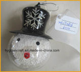 Snowman Shaped X′mas Ornaments for Christmas Tree Decoration