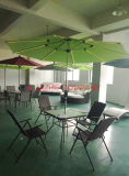 Solar Garden Umbrella Outdoor Umbrella Parasol with LED Light Umbrella (Hz-S71)