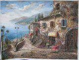 Home Decor Wall Art Mediterranean Oil Painting (EMD-053)