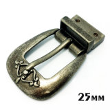 High Quality Metal Zinc Alloy Reversible Buckle Pin Belt Buckle for Dress Belts Garment Shoes Handbags (XWS-ZD297)