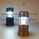 Rechargeable Camping Sunlight Lamp Outdoor Portable LED Lantern with Torch