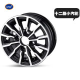 Competitive Price Professional Manufacture 8 Inch Motorcycle Aluminum Rim Alloy Wheels