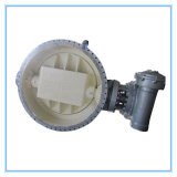 Manual Bidirectional Metal Sealing Butterfly Valve