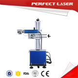Online Fly Fiber Laser Engraving Machine for Metal with LCD Touch Screen