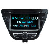 Witson Eight Core Android 8.0 Car DVD for Hyundai Elantra 2014 4G ROM 1080P Touch Screen 32GB ROM IPS Screen