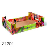 Custom Recycled Large Cheap Corrugated Fruit Banana Packing Cartons Boxes