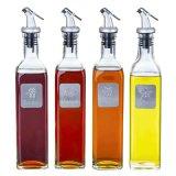 Glass Bottle for Kitchen Cooking Glass Flavor Vinegar Bottle Glass Oil Bottle
