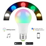 RGB Remote Voice Control 7W Smart WiFi LED Light Bulb