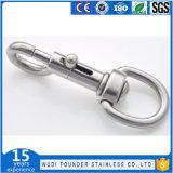 SS304 Ss316 Stainless Steel Swivel Eye Bolt Snap Hook