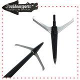 2blades Mechanical Broadhead Arrow Archery Head for Big Hunting Games