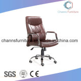 Modern High Grade Furnituer Brown Leather Executive Manager Swivel Chair