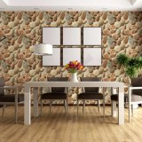 Wholesale Cheap Price Natural Stone Designs PVC Washable 3D Living Room Wallpaper for Home Decor