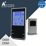 Big Screen Digital Weather Station Clock with Wireless Remote Sensor