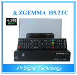 Hevc H. 265 Zgemma H5.2tc Combo DVB-S2+ 2*DVB-T2/C Free to Air Satellite TV Receiver