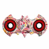 ABS Desk Toy Bat Shaped Hand Spinner Colorful Fidget Spinner