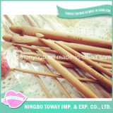Hand Knitting Needle Wool Bamboo Crochet Hooks