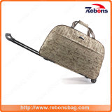 Allover Pattern Widely Used Durable Trolley Bag with Rip Stop