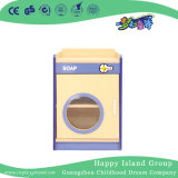 Kindergarten Toddler Role Play Wooden Washer Modeling Cabinet (HG-4404)