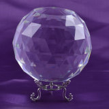 Facet Crystal Ball, Glass Faceted Ball Sphere
