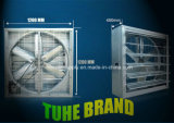 275mg/M2 Galvanize Thickness 380V/3phase Wall Mounted Exhaust Fan